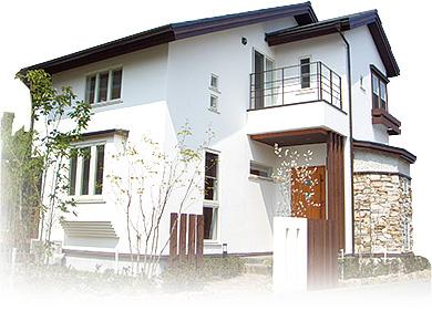 無添加住宅モデルハウス外観画像