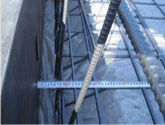 鉄筋を覆うコンクリートの厚さの画像